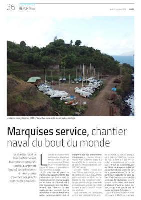 Maintenance Marquises Services dans le Marin